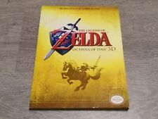 Guía Zelda Ocarina Of Time 3D Gold Prima Official Nintendo 3ds With Poster Guide