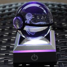 Night Children bedroom 3D Pokemon Gardevoir Crystal ball LED desk mood light
