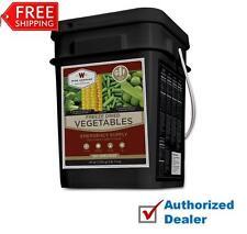 Wise Food VEGETABLES 160 Servings - GLUTEN FREE, Camping, Emergency, Survival