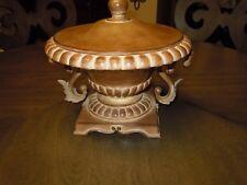 Large Heavy Ornate Centerpiece Decorative Bowl