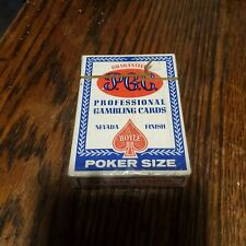 Unopened, sealed Golden Gate Casino Las Vegas Playing Cards Table Blue Deck