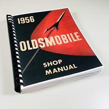 1956 OLDSMOBILE 88 SUPER 88 98 SERVICE MANUAL SHOP REPAIR ROCKET 56 OLDS