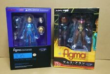 figma 133 Metroid Other M Samus Aran Zero + 306 Zero Suit Ver. Set Figure