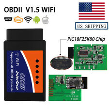 Auto Car Diagnostic Scanner PIC18F25K80 Chip WIFI V1.5 OBD2 Code Reader For IOS