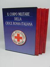 IL CORPO MILITARE DELLA CROCE ROSSA ITALIANA - 3 VOL. 1990 BELOGI - AUTOGRAFATO