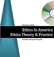 ETHICS THEORY ETHICS IN AMERICA Exam Study Guide DSST ECE StudyGroup101 SG101