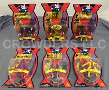 Marvel Comics Generation X X-Men Series 1 Complete Set 6 Action Figures NIP '95