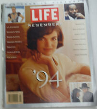 Life Magazine Jackie Kennedy & O.J. Simpson Michael Jackson January 1995 012215R