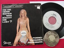"7"" Single ELLEN SABRI He He Herr Mayer was macht   Nude Erotik Sexy 