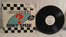 VINYL LP RECORD ALBUM CLUELESS DONT SPEAK 1997