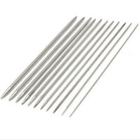 55pcs/set 20cm Stainless Steel Dual Point Straight Sweater DIY Knitting Needle