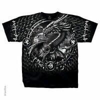 Omit Mens Dream Catcher Logo Black Tee Shirt New L