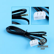 3.5mm AUX-In Mazda Radio Cable Male Interface Adapter For 06-13 Mazda 2 3 5 6