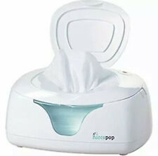 Hiccapop Ultra Wipe Warmer/Baby Wipes Dispenser Holder w/Changing Light NEW