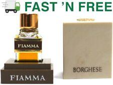 Vtg. Princess Marcella Borghese Fiamma New 2 cc Perfume Tester bottle in Box   .