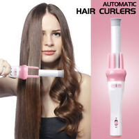 Automatic Hair Curler Wand Hot Ceramic Auto Rotating Beach Waver iron electric