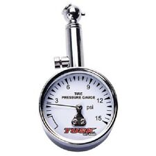 Tusk Low Pressure Dial Tire Gauge 1-15 psi MX ATV Dirt Bike UTV SXS Enduro