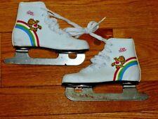 Care Bear Kids Childrens Ice Skates Double Blade Sz 12J