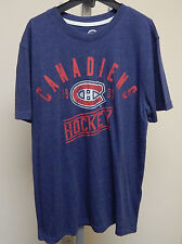 Montreal Canadiens MEN'S SCORE Short Sleeve Sample Top NWOT Large G-III