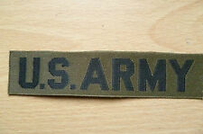 Patches: U.S. ARMY PATCH (NEW, apx.11x2.5 cm)