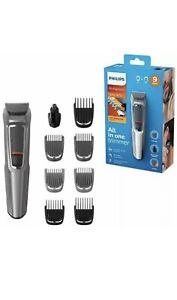 Philips Series 3000 9-in-1 Multi Grooming Kit Beard & Hair Nose MG3722