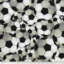 "Soccer Ball Window Curtain Valance Sports Game Cotton fabric 43""x15"