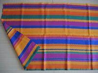 Stoffrest, schrille Farben, 70er Jahre, 140 x 185 cm