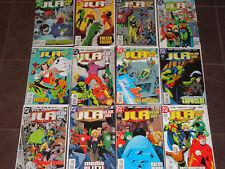Jla Year One #1-12 (1998) Vf full series Mark Waid Brian Augustyn Barry Kitson