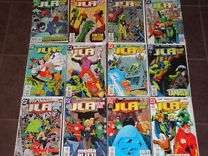 JLA YEAR ONE #1-12 VF full series 1998 Mark Waid Justice League of America