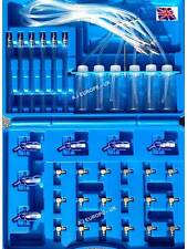 Flow Meter Common Rail Diesel Tester & All Adaptors Upto 6 Cylinders / Injectors