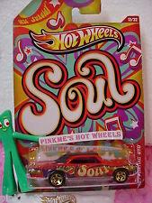 2012 Walmart Jukebox #13 '67 PONTIAC GTO 1967☆RED☆Soul☆Hot Wheels