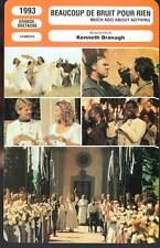 BEAUCOUP DE BRUIT POUR RIEN - Branagh(Fiche Cinéma)1993 - Much Ado About Nothing