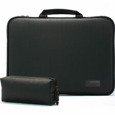 """HP Envy 17 M7 17.3"""" Laptop Case Sleeve Protection Bag Synthetic leather Black"""