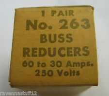 BUSS REDUCERS NO. 263  (NEW IN BOX)  LOT OF 4