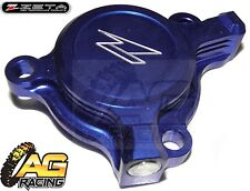 Zeta Oil Filter Cover Blue For Yamaha YZF 250 Yamaha YZ 250F 2003-2013 03-13 New