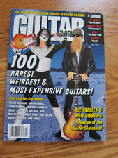 Guitar World 5/97 Kiss ZZ Top Weirdest & Rarest guitars