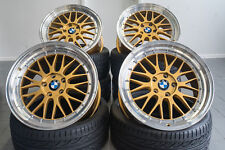 19 Zoll UA3 Alu Felgen für BMW 1er e82 e81 e87 F20 F21 F22 Gold M Performance