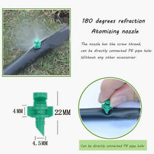 50Pcs Micro Garden Lawn Water Spray Misting Nozzle Sprinkler Irrigation Systems