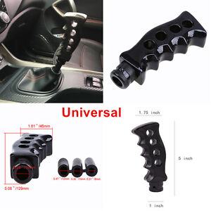 Universal Car Gear Shift Knob Shifter Gun Grip Knife Handle Manual Transmission
