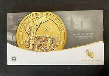 2015 Mohawk Ironworkers $1 Coin & Currency Set Perfect Best Price on Ebay CHN