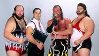 Jake The Snake Roberts Earthquake Typhoon & IRS Wrestling Photograph 8x6 WWF WCW