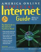 ITHistory (1998) Book: America Online AOL Internet Guide 4.0 2nd Ed Peal B3