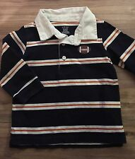 Gymboree Tiny MVP Football Long Sleeve Polo Shirt Size 12-18 Months
