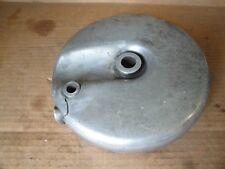 Harley Shovelhead Front Drum Brake Backing Plate & Cam 1969 - 1971 Damaged