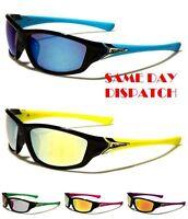 Arctic Blue Design Anti-éblouissement Miroir Sport Homme Lunettes de soleil femme 100/% UV400 ab03
