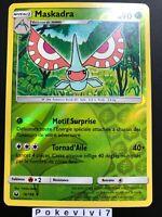 Carte Pokemon MASKADRA 16/168 REVERSE Soleil et Lune 7 SL7 FR NEUF