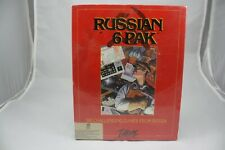 Russian 6 Pack PC Game By Interplay. Six Challenging Games From Russia. NEW!