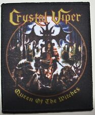 CRYSTAL VIPER Queen Of The Witches Patch - 12 cm x 9,5 cm - 163683