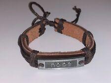 Hope Bracelet Dark Brown, Faith Bracelet