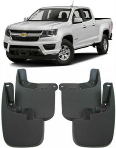 OEM Splash Guards Mud Guards Flaps FOR 2015-2020 Chevrolet Colorado No Flares